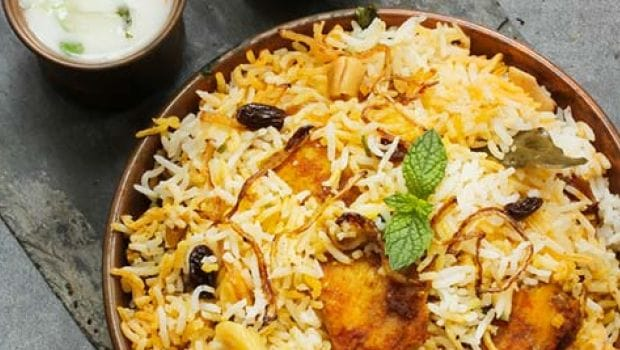 10 Best South Indian Lunch Recipes- fish biryani