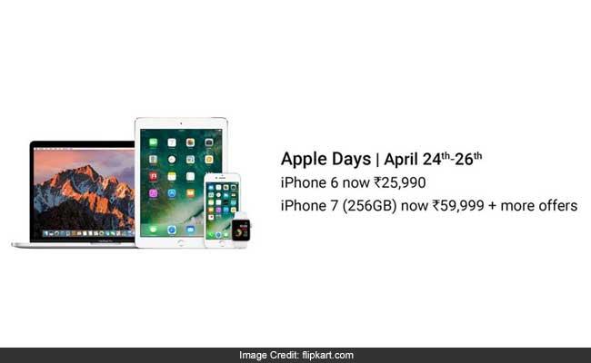 फ्लिपकार्ट की 'Apple Days Sale' शुरू, मिल रही भारी छूट, मगर सिर्फ 26 अप्रैल तक