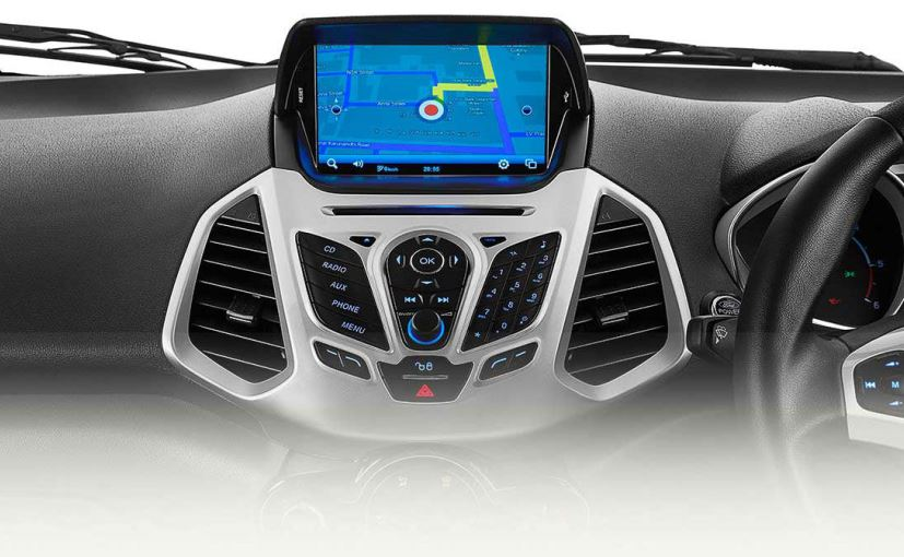 ford ecosport titanium trim gets new 8 inch touchscreen. Black Bedroom Furniture Sets. Home Design Ideas