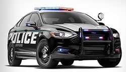 Ford Reveals Its First Hybrid Police Car