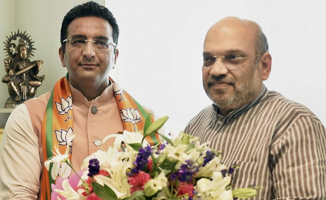Gaurav Bhatia, Samajwadi Party's Firefighter On TV, Joins BJP