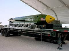 US Hits ISIS Targets With Biggest Non-Nuclear Weapon Ever Used In Combat