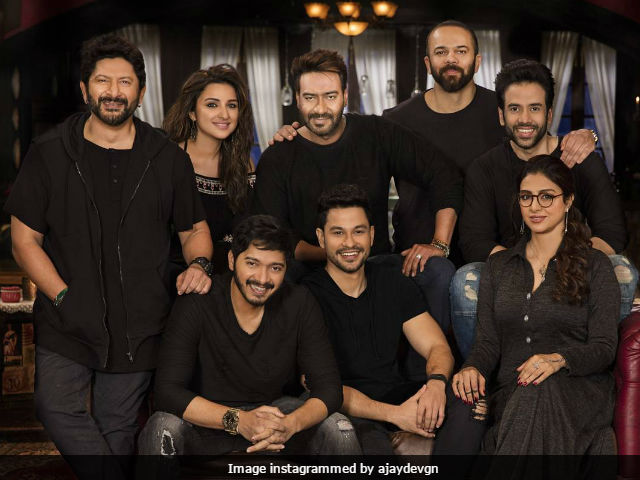Golmaal Again: First Schedule Of Shoot Completed