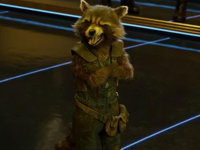 The Guardians Of The Galaxy Groove To Bappi Lahiri. Yes, Even Rocket. Enjoy