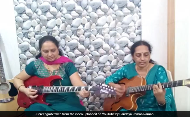 Electric Guitar Playing 'Aunties' Slay Stereotypes, One Chord At A Time