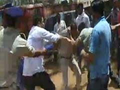 Cop In MP Kicked, Punched. He Was Going To Fine Politician's Relatives