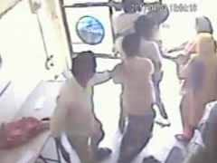 Caught On Camera: How Gurgaon Women Fought Off Armed Robbers At Bank