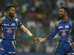 IPL 2017: Mumbai Indians Dressing Room Enjoys Batting Display Of Pandya Brothers, Says Rohit Sharma