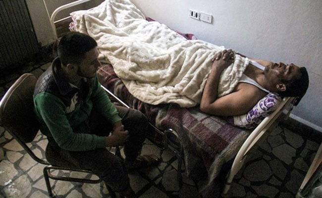 In Syria Chemical Strike, How This Man's Quick Thinking Saved His Life