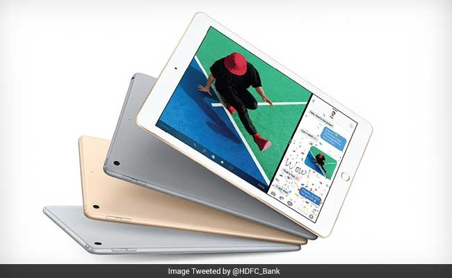 HDFC Bank's cash back scheme on iPad is open till May 15.