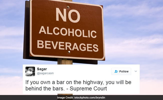 Highway Liquor Ban Comes Into Effect, Jokes Are Flowing On Twitter