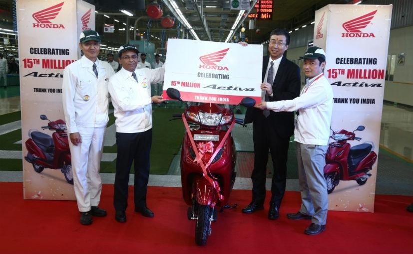 1.5 Crore Units Of Honda Activa Manufactured In India