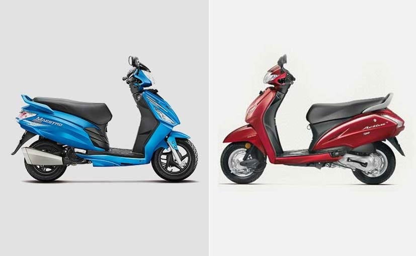 Fabulous Honda Activa 4G Vs Hero Maestro Edge Specifications Evergreenethics Interior Chair Design Evergreenethicsorg