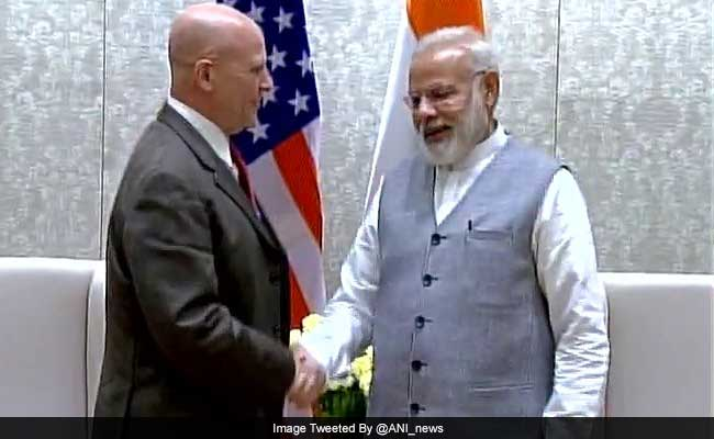 Donald Trump's Top Security Adviser HR McMaster Meets PM Narendra Modi, Reaffirms India As Major Defence Partner