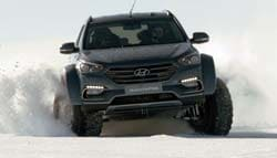 Hyundai Sante Fe Becomes First Passenger Vehicle To Be Driven Across Antarctica