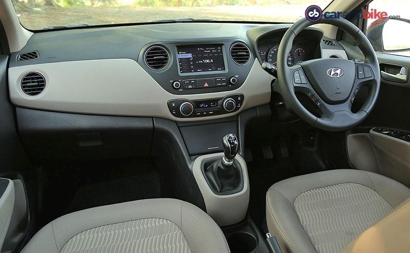 hyundai xcent facelift cabin