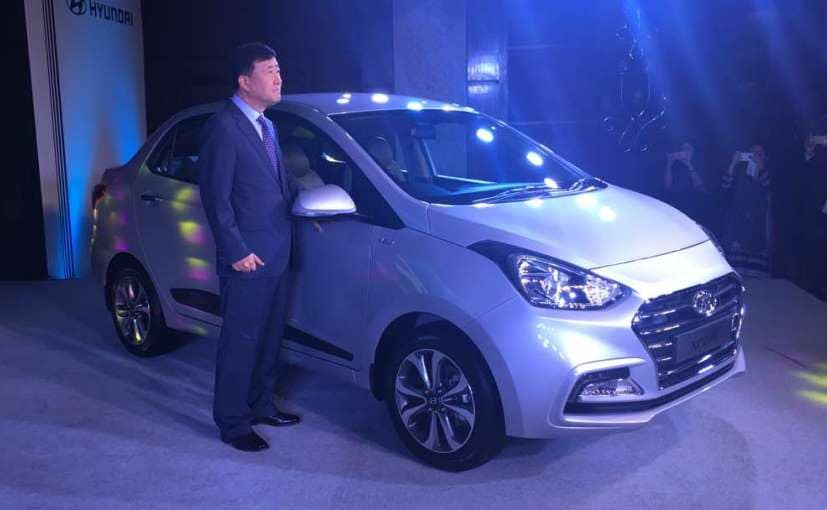 2017 Hyundai Xcent Facelift Launched In India; Prices Start At &#8377 5.38 Lakh