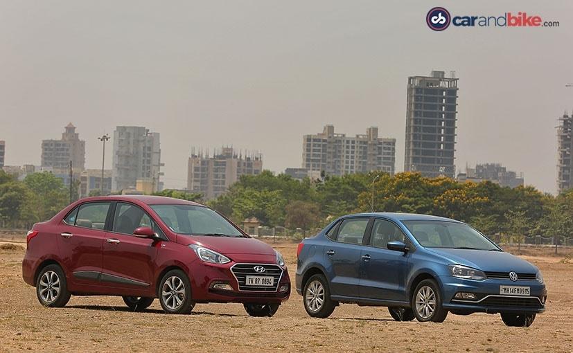 Hyundai Xcent Facelift vs Volkswagen Ameo: Comparison Review