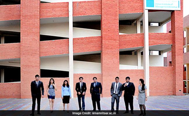 Iim Amritsar Summer Internship Placement 122 Offers