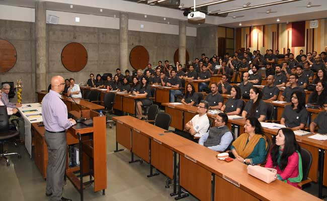 IIM Ahmedabad's 12th PGPX Batch Inaugurated