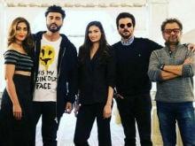 <i>Mubarakan</i>: Ileana D'Cruz Shares Details And Pic From Anil Kapoor, Arjun's New Film