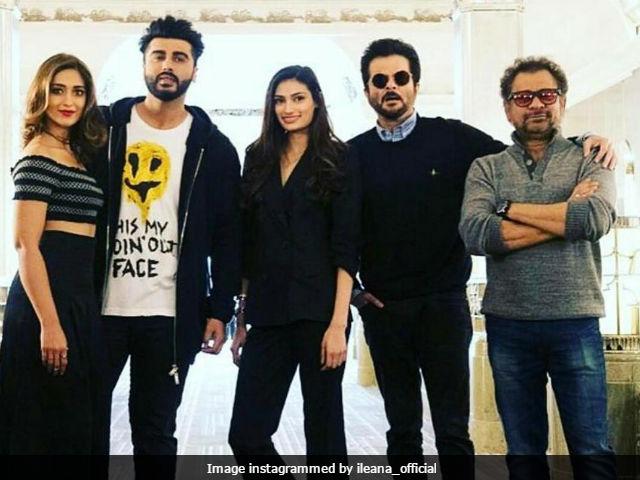 Mubarakan: Ileana D'Cruz Shares Details And Pic From Anil Kapoor, Arjun's New Film