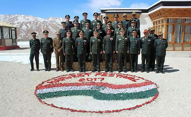 India, China Hold Border Meeting Along LAC In Jammu And Kashmir's Ladakh