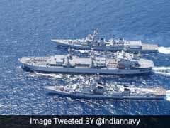 India, France Carry Out Joint Naval Exercise