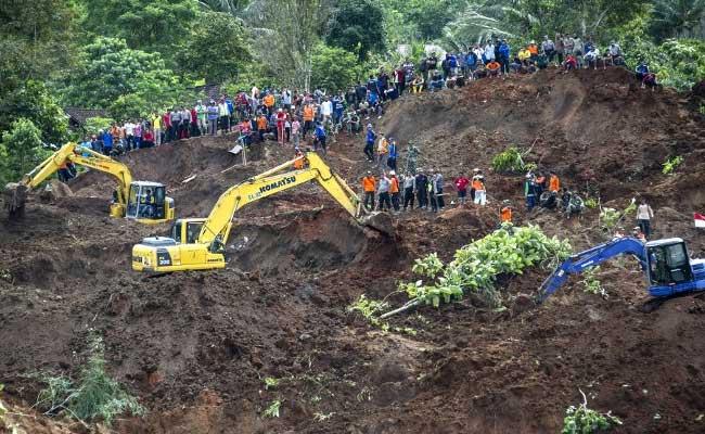 At Least 2 Dead, 26 Missing In Indonesia Landslide
