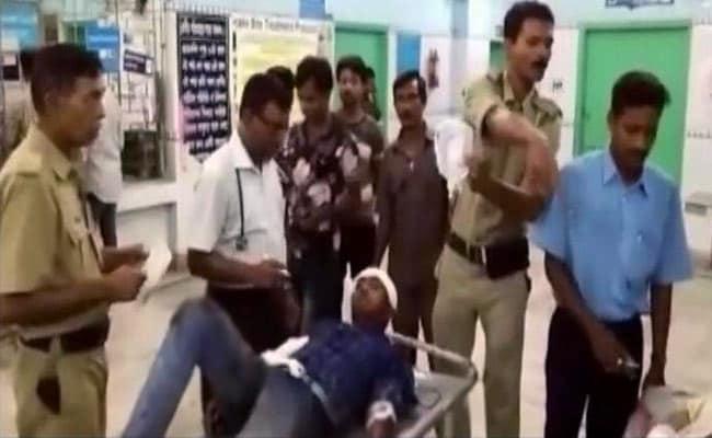 injured passenger howrah train selfie incident