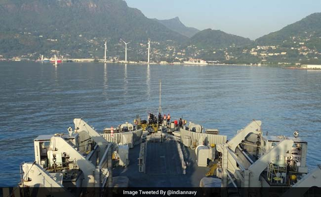 INS Shardul To Provide Surveillance Support In Indian Ocean