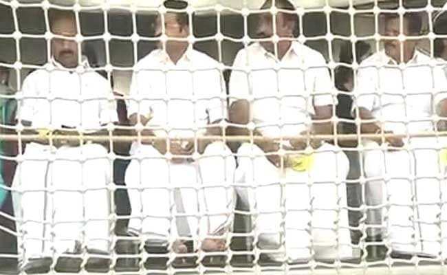 Tamil Nadu Ministers Spend A Day Aboard INS Chennai Amid Political Chaos