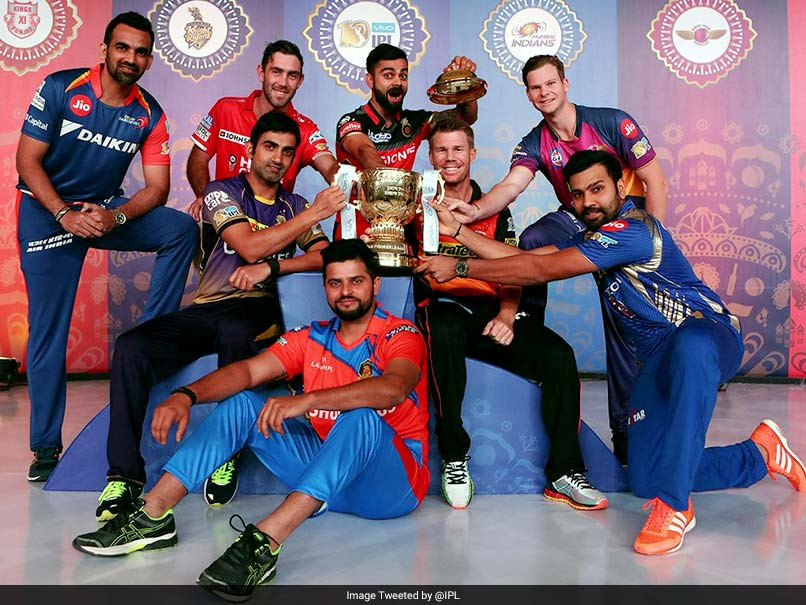 IPL 2017 all set to take center stage. Image Courtesy: NDTV