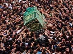 Kadhimiyah To Baghdad: Shiite Faithful Throng Carries Symbolic Coffin In Devastated Iraq