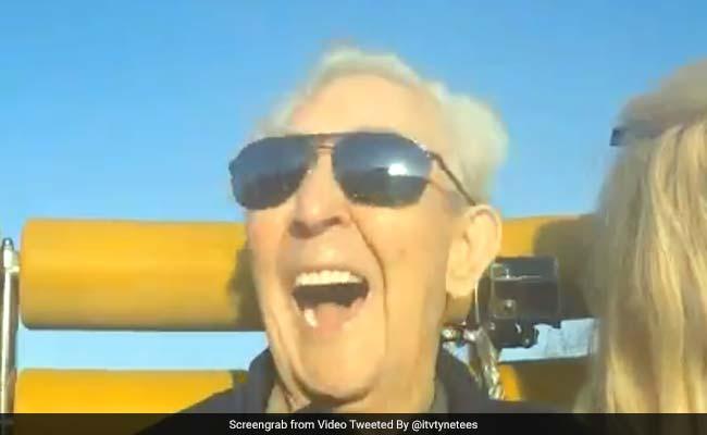 UK Man, 105, Celebrates Birthday With Roller Coaster Ride. Breaks Record