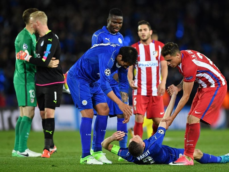Champions League: Jamie Vardy In Vain As Atletico Madrid End Leicester City's Fairytale