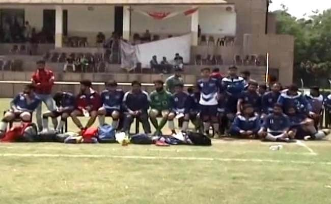 ABVP Allege Disrespect Of National Anthem During Football Match In Jammu