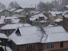 जून के महीने में 'मिनी कश्मीर' में हुई बर्फबारी, शीतलहर जैसे हालात बने