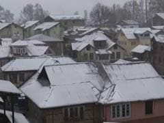Rain, Snow Lash Jammu and Kashmir