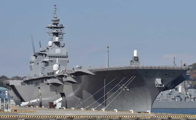 Japan's Biggest Warship Since World War II Will Escort US Supply Vessel: Reports