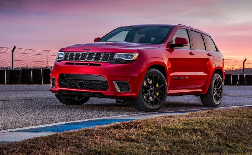 707 BHP Jeep Grand Cherokee Trackhawk Unveiled