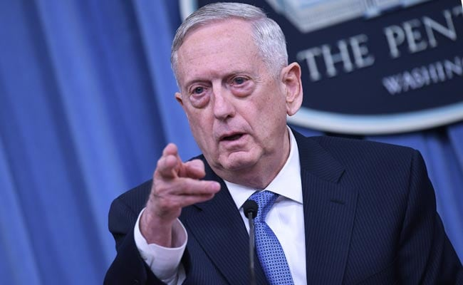 North Korea 'Poses A Threat To Us All': US Defence Secretary Jim Mattis
