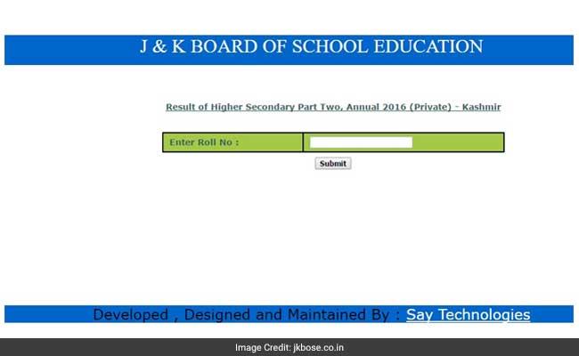 jkbose results