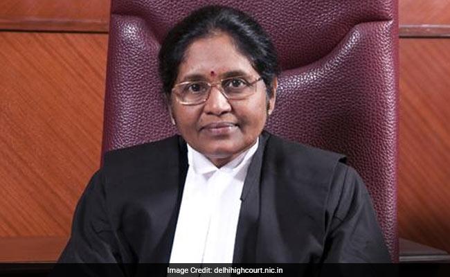 First Lady Chief Justice G Rohini Of Delhi Retires