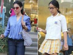 स्कूल के बाद बेटी न्यासा को लेकर शॉपिंग पर गईं काजोल, देखें तस्वीरें