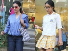 Kajol Took Daughter Nysa Shopping After School. See Pics