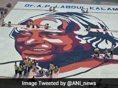 Paper Cup Mosaic Is A Tribute To 'People's President' APJ Abdul Kalam