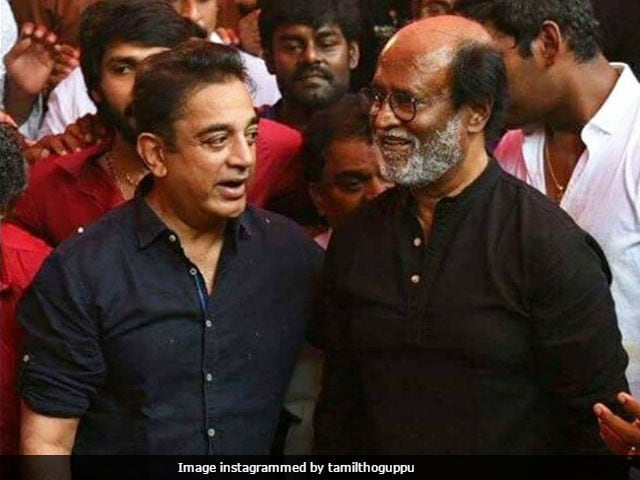 Rajinikanth Says Kamal Haasan Is The 'Angriest Person' He Has Ever Met