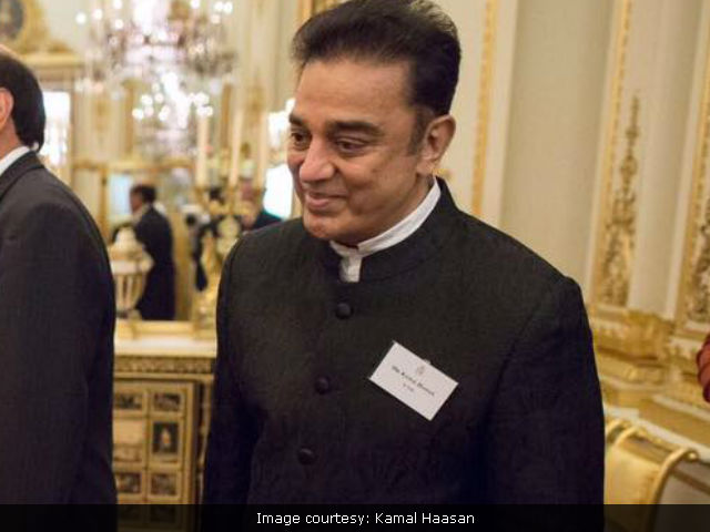 Kamal Haasan Escapes Fire At Home, Tweets