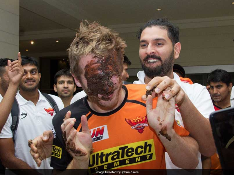 IPL 2017: Sunrisers Hyderabad Celebrations Hit A Sugar Rush